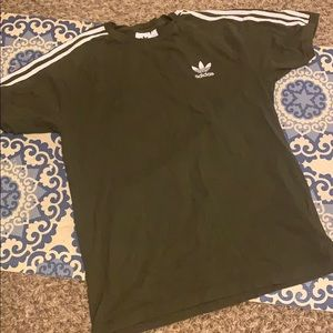 Adidas army green shirt